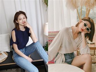 """Đã có 3 kiểu áo blouse tạo hiệu ứng dáng """"mi nhon"""" này, bạn béo một chút cũng không lo"""
