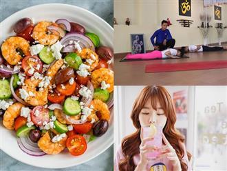 Da đẹp, dáng xinh nhờ áp dụng những bí quyết này trong chế độ dinh dưỡng cho người luyện tập yoga