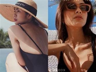 Đã lâu lắm rồi Tăng Thanh Hà mới diện bikini, khoe body 'sương sương' khiến fan 'mất máu'