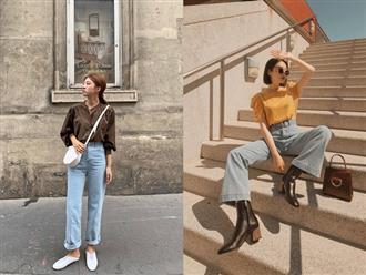 Đã tìm ra kiểu quần jeans vô địch về khoản hack tuổi, nhưng vẫn thanh lịch chẳng kém quần jeans trắng