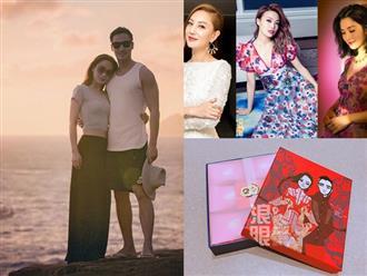 Đám cưới ca sĩ Chung Hân Đồng: Dàn phù dâu xinh như tiên nữ, quà tặng khách mời cực 'độc'