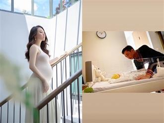 Đàm Thu Trang chia sẻ hình ảnh mới nhất của con gái, nhìn chỉ muốn 'lụi tim'