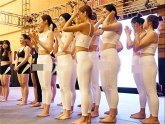 Dàn mỹ nhân xứ Hàn gây tranh cãi khi diện bộ cánh 'xuyên thấu' dự sự kiện khiến CĐM 'nóng mặt'