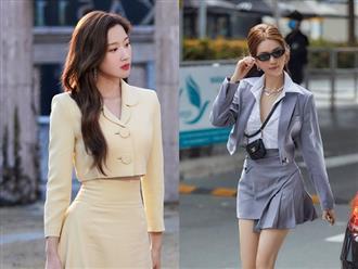 Dàn sao từ Hàn đến Việt đều mê mẩn combo váy áo hack dáng đỉnh cao, khoe eo sexy mà vẫn sang hết nút
