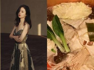 """Dân tình phát hoảng khi nhìn bữa ăn của Triệu Lệ Dĩnh, hóa ra đây là lý do phía sau thân hình """"siêu gầy, siêu mỏng"""""""