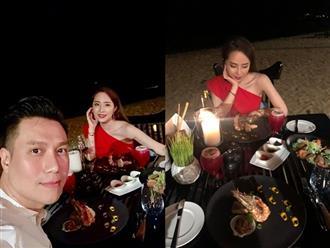 Đăng ảnh ăn tối lãng mạn cùng Quỳnh Nga, Việt Anh bị dân mạng hỏi: 'Bao giờ cưới?'