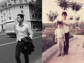 Đăng ảnh thuở nhỏ cùng em trai, Hứa Vĩ Văn nghẹn ngào gửi lời nhớ thương khiến ai nấy đều xúc động