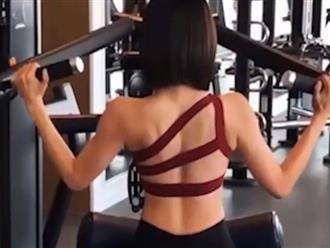 Đăng clip mướt mồ hôi trong phòng gym, gái xinh khiến CĐM điên đảo vì bộ đồ tập bó sát