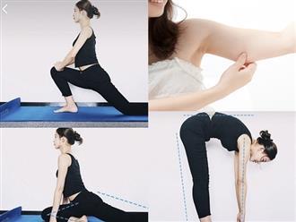 Dành vài phút thực hiện bài tập này mỗi tối, bắp chân và tay dày mỡ đến mấy cũng thon gọn quyến rũ