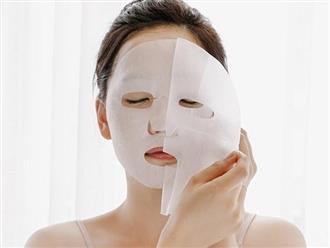Đắp mặt nạ giấy sao cho đúng cách để đạt hiệu quả cao