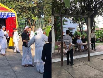 Đau xót nhìn cảnh Việt Hương thất thần, đứng không vững tiễn biệt bố về nơi an nghỉ cuối cùng