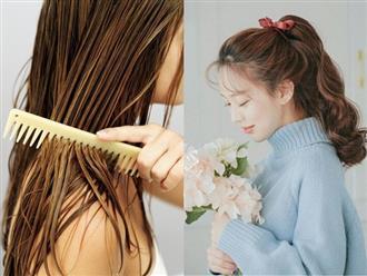 Đây chính là những sai lầm thường gặp khiến mái tóc của bạn ngày càng yếu dần