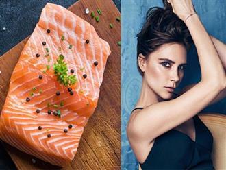 Đây là lý do vì sao Victoria Beckham lựa chọn cá hồi để ăn mỗi ngày