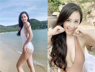 Diện bikini gợi cảm khoe vòng 1 'khủng', Mai Phương Thúy khiến dân tình 'bỏng mắt'