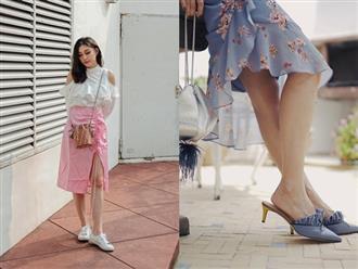 Diện váy vóc, bạn sẽ muốn mix ngay với 5 kiểu giày sau vì mặc lên quá xinh xắn và trendy