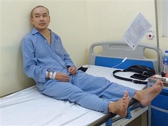 Diễn viên Đức Thịnh nhập viện điều trị ung thư hạch khiến nhiều người lo lắng