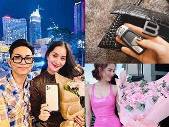 'Đỏ mắt' ghen tỵ với cách sao Việt mừng Valentine: Khánh Thi nhận quà trăm triệu từ chồng trẻ, Tú Anh được tặng hẳn 1 chiếc xe hơi