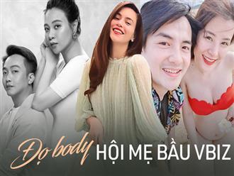 Đọ visual và body hội mẹ bầu Vbiz ở cận cuối thai kỳ: Đông Nhi - Đàm Thu Trang đỉnh cao, nhưng khó tin nhất là Hà Hồ
