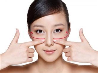 Động tác massage giúp da mịn màng