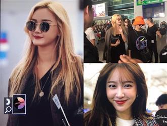 EXID xuất hiện chớp nhoáng ở sân bay Tân Sơn Nhất, nữ thần Hani chiếm trọn spotlight