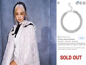 """Fan Jennie đỉnh số 2 không ai số 1: Sẵn sàng chi 1,8 tỷ để mua dây chuyền """"đu"""" theo idol dù MV mới ra chưa đầy 1 tuần!"""