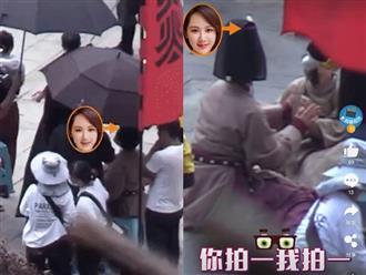 Trong khi fan khẩu chiến 'long trời lở đất', Dương Tử và Ngô Diệc Phàm lộ mối quan hệ qua hành động này trên phim trường