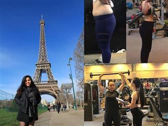 Giảm 10kg chỉ sau 2 tháng tập gym theo hướng dẫn của huấn luyện viên, cô gái trẻ sở hữu thân hình nuột nà, tự tin đón Tết