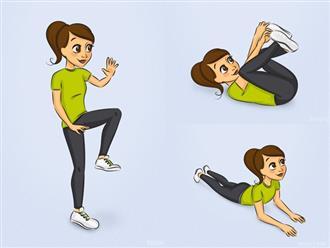Giảm ngay 3kg mỗi tuần nhờ thường xuyên thực hiện những bài tập cực đơn giản này tại nhà