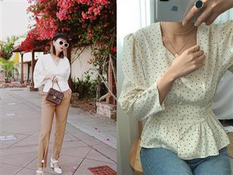 Giới thiệu đến nàng công sở mẫu áo blouse không chỉ thanh lịch mà còn giúp vóc dáng trông như gầy đi vài kilogram