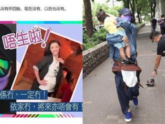 Giữa ồn ào mang thai con thứ 4, Trương Bá Chi chính thức lên tiếng