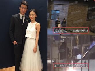 Giữa tin đồn hẹn hò gái lạ, Lâm Canh Tân bị bắt gặp đến nhà riêng của 'người cũ' Vương Lệ Khôn