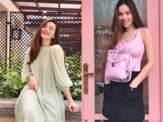 Giữa nghi vấn mang song thai, Hà Hồ khoe nhan sắc rạng rỡ nhưng lại gây chú ý với dấu hiệu ngầm xác nhận 'tin vui'