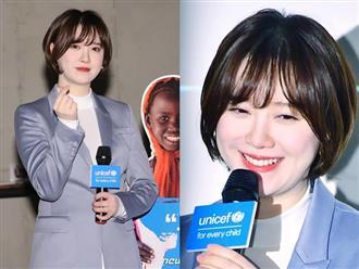 Goo Hye Sun tại sự kiện: Trẻ như gái 20, trắng đến phát sáng dù đã trang điểm hạ tông da