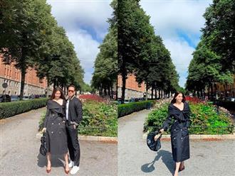 Hà Hồ vừa than xa cách, Kim Lý đã đăng ngay ảnh tình tứ cùng người đẹp lên trang cá nhân