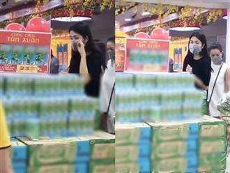 Hà Tăng bị 'team qua đường' quay lén khi đi siêu thị, nhan sắc ngoài đời ra sao?