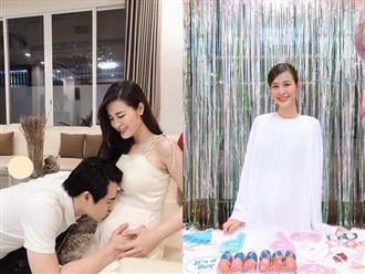 """Hậu công khai giới tính con đầu lòng, Đông Nhi đã chính thức tự tay tổ chức tiệc baby shower chờ ngày """"vỡ chum"""""""