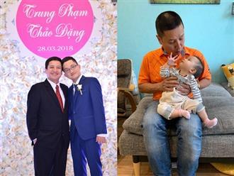 Hậu công khai tình mới, mối quan hệ của NSƯT Chí Trung và hai con ra sao?