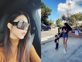 Hậu ly hôn, một mình nuôi con trai ở Mỹ, Ngọc Quyên tiết lộ: 'Tôi cứ lao vào hết việc này đến việc khác'