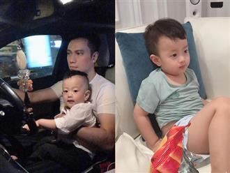 Hậu ly hôn vợ hot girl, diễn viên Việt Anh úp mở việc đưa con trai vào Sài Gòn sống cùng