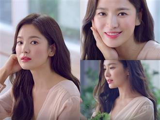 Hậu ly hôn, Song Hye Kyo khiến fan ngẩn ngơ với loạt ảnh quảng cáo đẹp mê hồn: Thời kỳ đỉnh cao nhan sắc đã đến