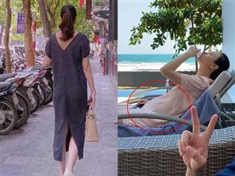 Hậu tin đồn mang thai, Đàm Thu Trang đăng ảnh mới nhưng sao lại giống Hà Hồ ở chi tiết này đến vậy