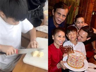 Hậu trường Subeo nấu ăn và chuẩn bị tiệc Noel cho cả nhà, đọc đến lời chúc bà ngoại là biết cậu bé hiểu chuyện thế nào!