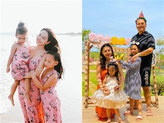 Hé lộ câu chuyện sau 1 ngày đi diễn của Phạm Quỳnh Anh: Nghe lời của 2 cô con gái nói với mẹ, tưởng đâu cảnh phim!