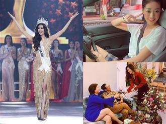 Hé lộ cuộc sống sang chảnh 'nhìn mà thèm' của Tân Hoa hậu Hoàn Vũ Việt Nam 2019