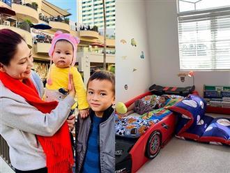Hé lộ cuộc sống thật của con trai Ngô Kiến Huy trên đất Mỹ sau khi mẹ kết hôn