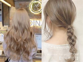 """Hè này mà chơi màu beige cho tóc thì bạn không chỉ xinh """"ngọt"""" mà visual cũng """"lên mây"""""""