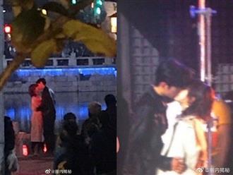 Hình ảnh nữ diễn viên Dương Tử ôm hôn Tiêu Chiến trên phố khiến netizen xứ Trung bấn loạn