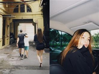 Hồ Ngọc Hà và Kim Lý đưa con trai đi chơi, khoảnh khắc lộ mặt mộc tháng cuối thai kỳ gây chú ý