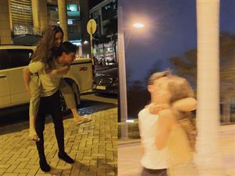 Hồ Ngọc Hà và Kim Lý lại 'trốn con' đi chơi, ôm hôn cực tình tứ khiến dân tình bấn loạn