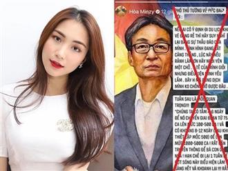 Hòa Minzy bị ném đá vì chia sẻ tin sai sự thật, cư dân mạng yêu cầu xử thật nặng để răn đe